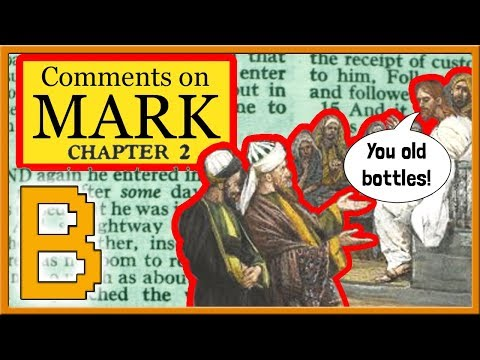 Bible Study on the Gospel of Mark: Chapter 2