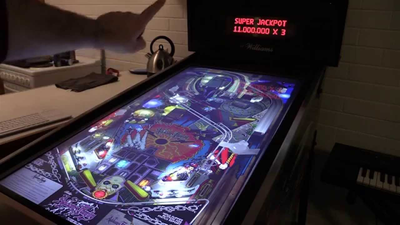 Nick's Virtual Pinball Cabinet, A Basic Overview - YouTube
