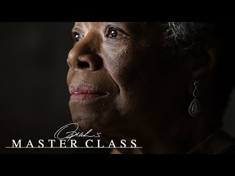 Dr. Maya Angelou's 3-Word Secret to Living Your Best Life | Oprah's Master Class | OWN