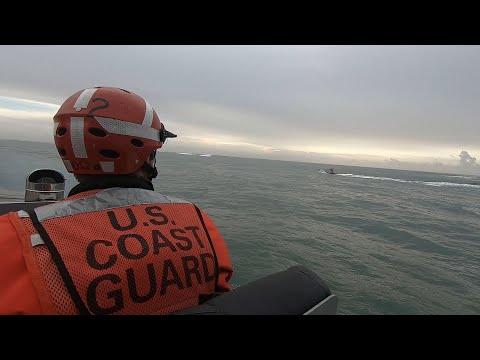 Coast Guard Station Bodega Bay Surf Video