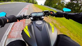 I Got a Little too Excited… 2nd Nürburgring Lap in SUPERVIEW | Yamaha MT-07 FULL AKRAPOVIČ TITANIUM