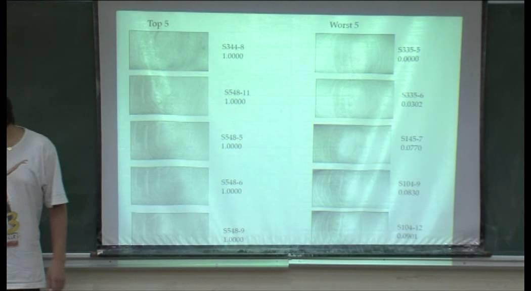 Mod-01 Lec-25 Lecture-25 Biometrics
