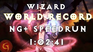 Diablo 3 Wizard Any% NG+ World Record Speedrun 1:02:41