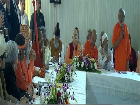 Hindu and Muslim religious leaders meet post Ayodhya Verdict