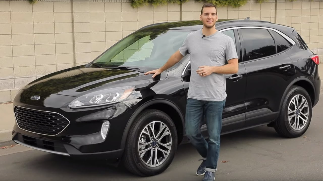 2020 Ford Escape Test Drive Video Review Youtube