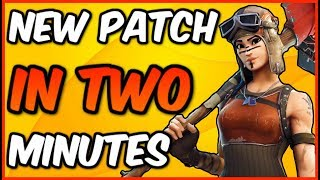 Fortnite Weekly News In 2 Minutes! Patch V.1.8.2 (Fortnite Battle Royale)
