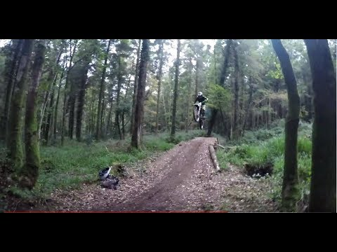 Secret Motocross Track Hidden In The Woods