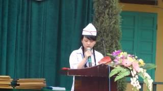 Buổi lễ bế giảng năm học và chia tay học sinh lớp 9 ( AK17 - THCS Nguyễn Văn Huyên)