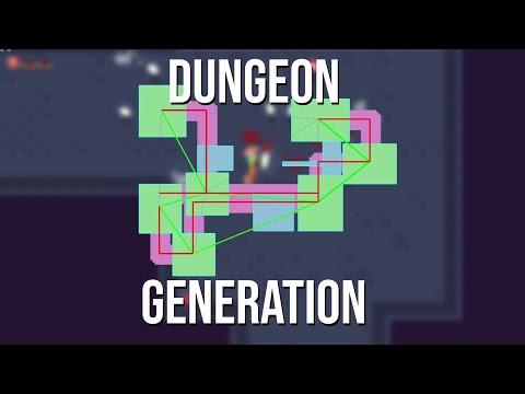 Dungeon Generation in Gun Game |
