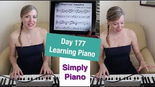 Piano Progress Day 177 - Struggling with Für Elise - Simply Piano