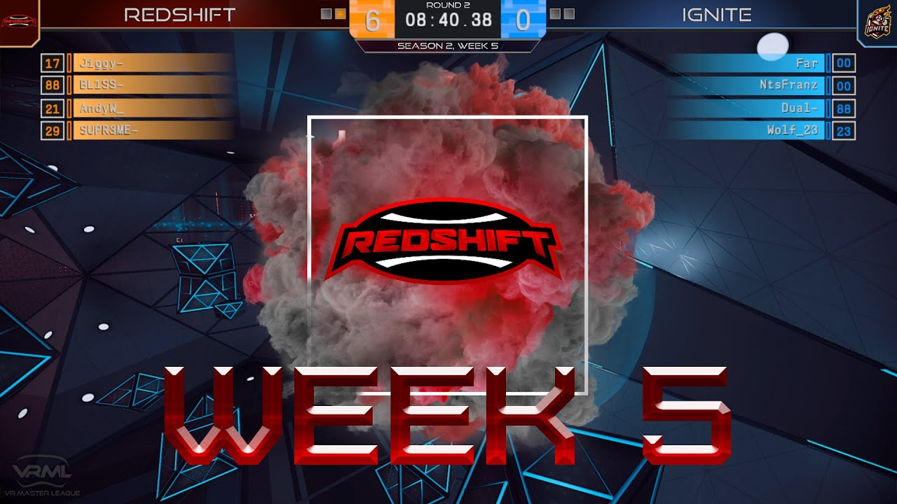 VRML Echo Arena Week 5