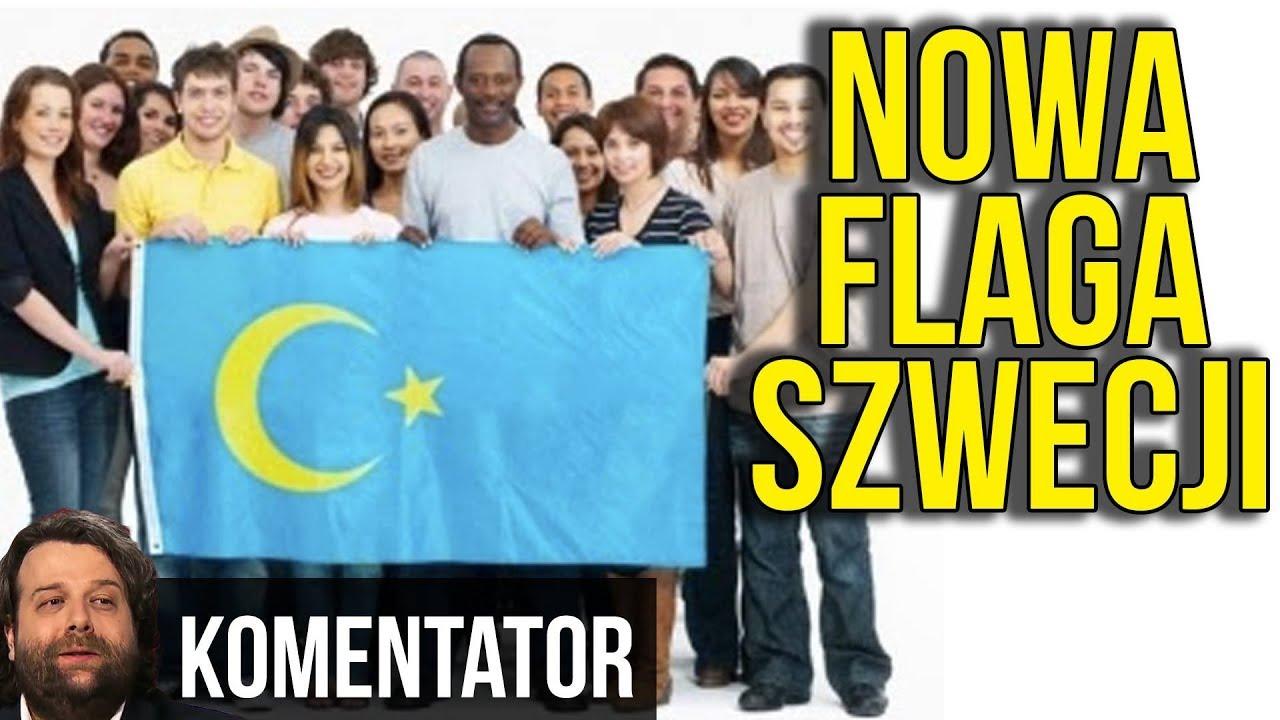Szwecja: Flaga DO ZMIANY – Przeszkadza Imigrantom.
