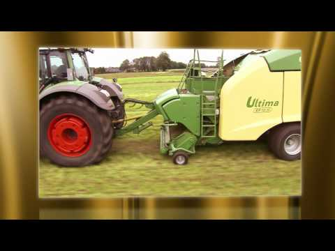 """AGRITECHNICA 2011 Goldmedaille: NON-STOP Round Baler-Wrapper Combination """"Ultima"""" (Krone)"""