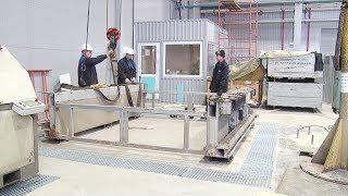 Будни ВСМПО. Монтаж установки гидроабразивной резки в цехе № 22