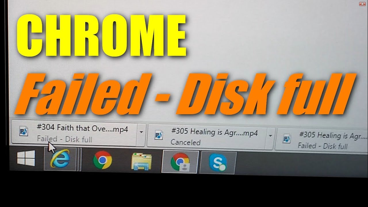 How to fix Chrome Download