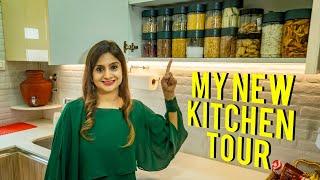 My New Kitchen Tour | नए किचन को बेहतरीन बनाने और सजाने के टिप्स | Kitchen Organization Ideas