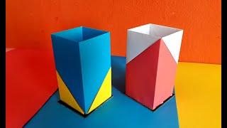 Download Video How to Make Paper Pencil holder    pen holder    কাগজের কলম দানী     Easy DIY paper crafts MP3 3GP MP4