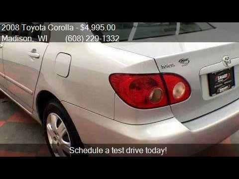 2008 Toyota Corolla Le 4dr Sedan 4a For Sale In Madison