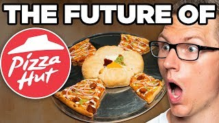 Pizza Hut Four Way Pizza Taste Test | FUTURE FAST FOOD
