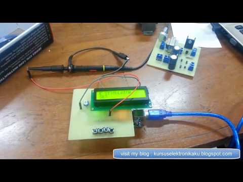 Frequency Generator PWM Adjustable + Count Down Timer ARDUINO