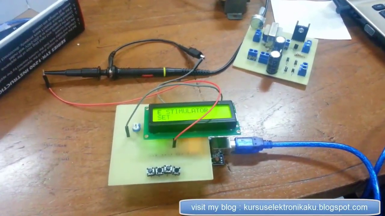 Frequency generator pwm adjustable count down timer