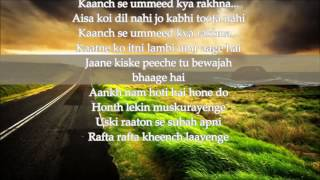 TERI KHUSHBOO ARIJIT SINGH KARAOKE WITH LYRICS