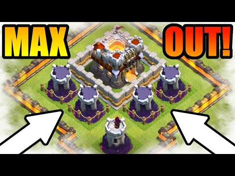 HOW TO MAX YOUR BASE IN CLASH OF CLANS! - Journey To The End!