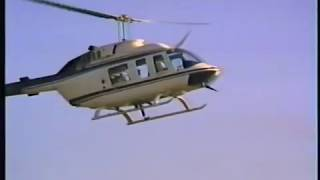 Accident Lifting Loudspeaker Onto Stadium Roof With A Bell Long Ranger 206 Helicopter