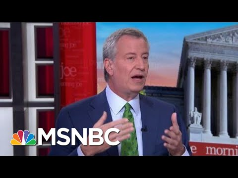Bill De Blasio Leaves Race, Shares What He Learned On Trail | Morning Joe | MSNBC
