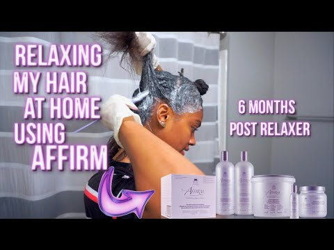 relaxing-my-hair-at-home-using-avlon-affirm