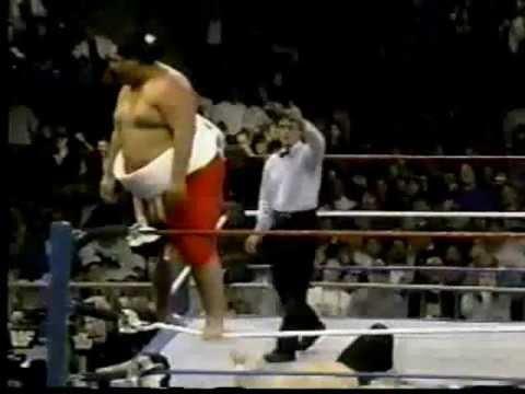 WWF Superstars Yokozuna Debut September 12 1992