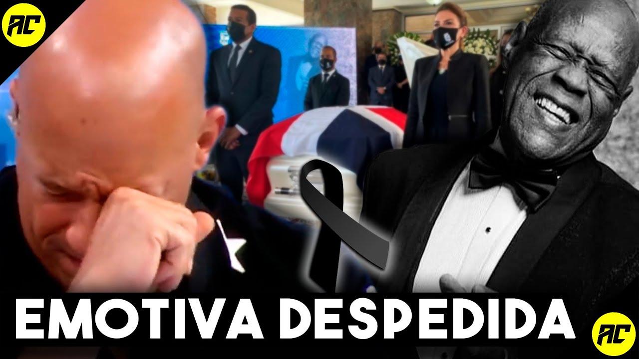 Vin Diesel Conmovido Por La Partida De JOHNNY VENTURA.Así Fue La Emotiva Despedida Del CABALLO MAYOR