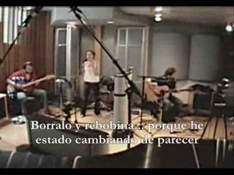 The Cardigans - Erase and Rewind (traducido español) - Acustico / Acoustic