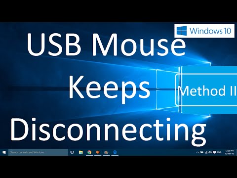 USB Mouse Keeps Disconnecting in Windows 10 (Solved: Method