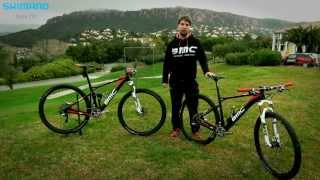 BMC Mountain Bike Racing team bikes