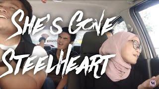 She's Gone - Syafa Wany, Ku Faiz & Asyraaf Moktar (Cover SteelHeart) WazuKeretaKaroks