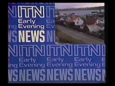 World Cup 82, TVS Adverts & Continuity plus ITN Early Evening News - 1982
