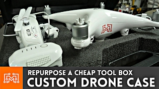Harbor Freight Drone Case // How To