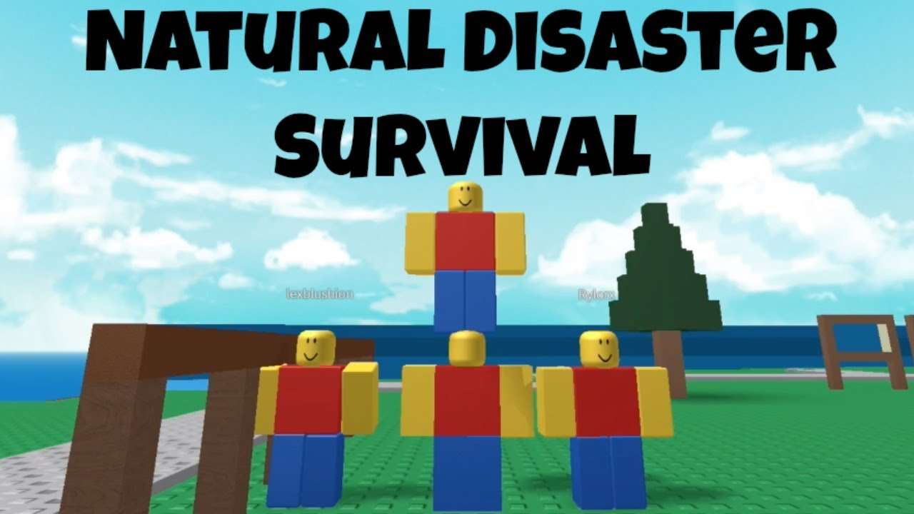 Natural Disaster Game On Roblox