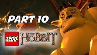 LEGO: The Hobbit Walkthrough Part 10 - Great Goblin King (PS4 1080p Gameplay)