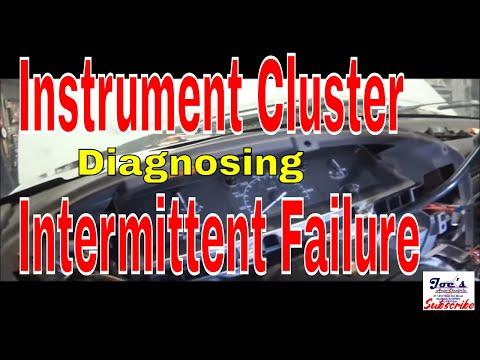 F250 Instrument Cluster Intermittent