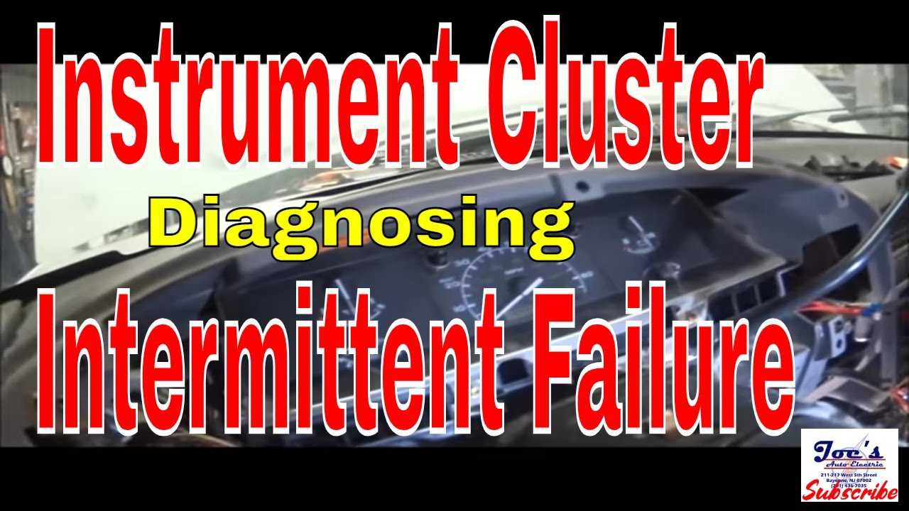 hight resolution of f250 instrument cluster intermittent