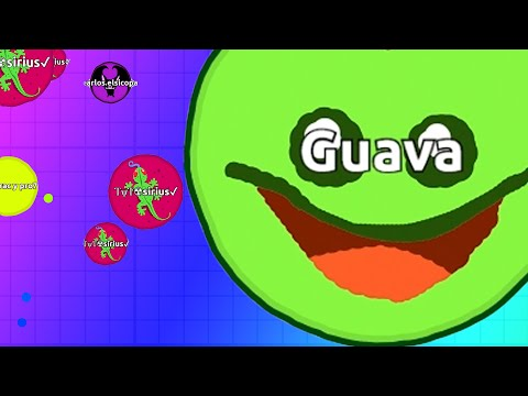 Thumbnail: My First Time Playing Agar.io!