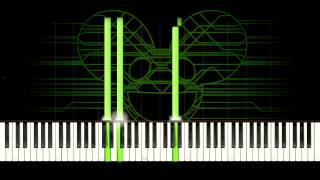 deadmau5 - Faxing Berlin [Piano Tutorial]