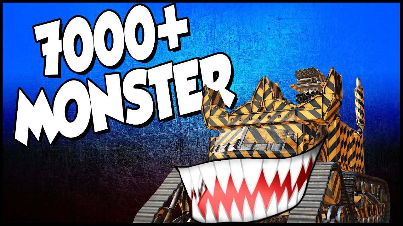 Crossout 7000 power score monster triple cricket launcher crossout 7000 power score monster triple cricket launcher heavily armored crossout gameplay malvernweather Images