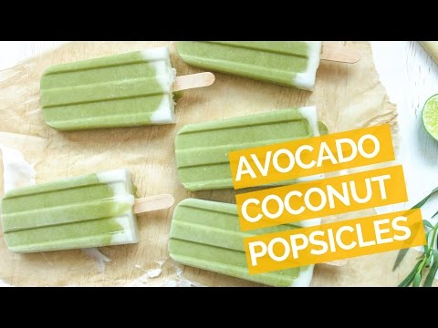 Tropical Avocado Popsicle Recipe