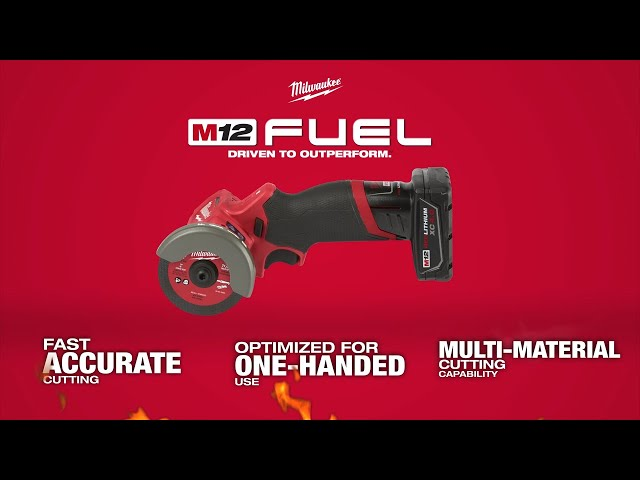 Milwaukee M12 Fuel 3 Compact Cut Off Tool Youtube