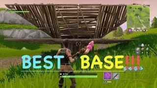 Fortnite Battle Royale Most Efficient Base Design (Cool Base Design)