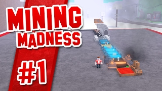 Mining Madness #1 - SIMPLE MINE SETUP (Roblox Mining Madness)