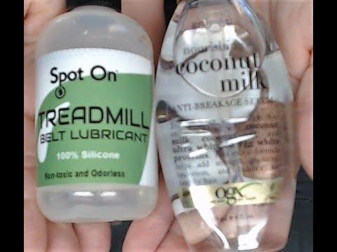 Spot On Treadmill Silicone VS OGX Coconut Milk Serum Surprising Results